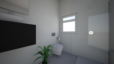 bathroom - Modern - Bathroom  - by archerry137