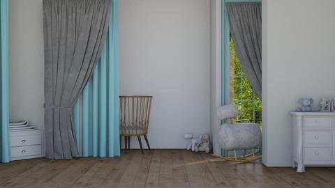 Blue baby nursery - Modern - Kids room  - by matildabeast