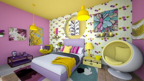 spring aesthetic - Modern - Bedroom - by loona18
