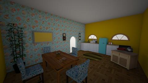 Eat in Kitchen  - Kitchen  - by emmarebecca19