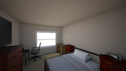 Final - Modern - Bedroom  - by Dsowersby91