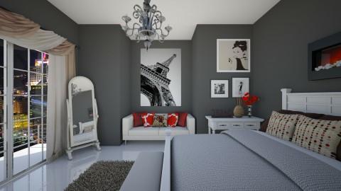 Victoria Dark - Classic - Bedroom  - by Veny Mully