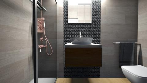 Cologno bagno ospiti28 - Bathroom - by natanibelung