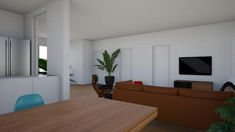 new living room 10 - Living room  - by deathrowdave