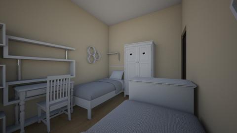 lozko za komoda1 - Kids room - by aska525