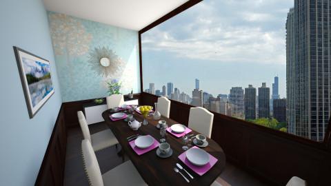 Bluey - Dining room  - by mycha
