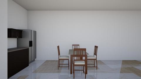 floorplan By Alexis Rios - Modern - Kitchen  - by alexis rios