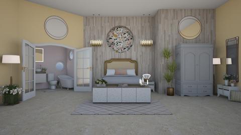 IP Terrazzo - Feminine - Bedroom  - by laurenpoisner