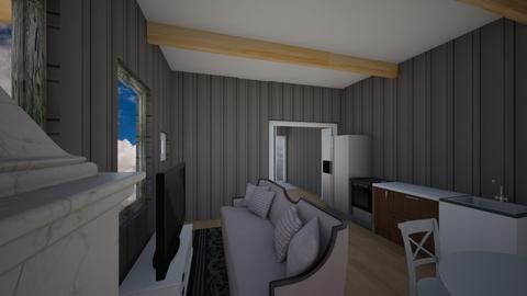 My modern room - Living room  - by torresluke