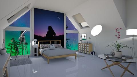stargazing - Bedroom  - by Daisydesigner