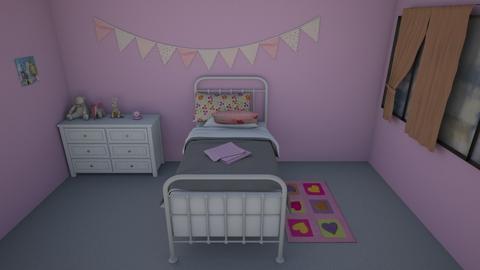 habitacion degollado - Bedroom  - by Kaiesegura