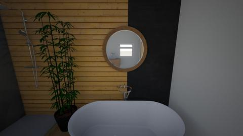 black noir - Bathroom  - by Amyrose1991