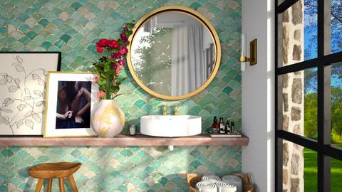 exotic bath 2 - by Marina Struwig