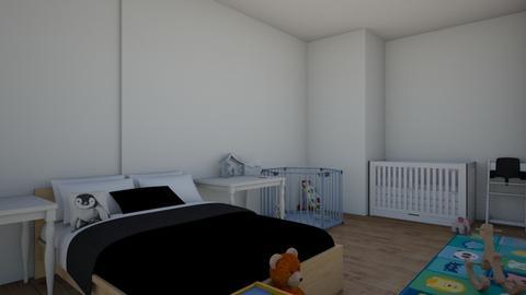 teen mum and baby bedroom - Bedroom  - by alexis_holden_xoxo