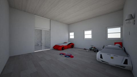 KIds Car room design - Classic - Kids room  - by Elios3