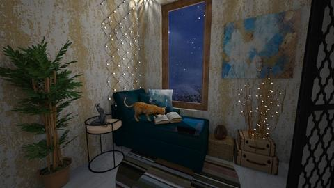 Reading space - Living room - by vitoriaspiridon