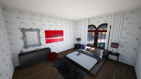 blaclandaccents - Bedroom - by sannyfhezerston