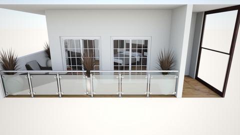 habitacion principal 3 - Modern - Bedroom  - by EDGARNIKA