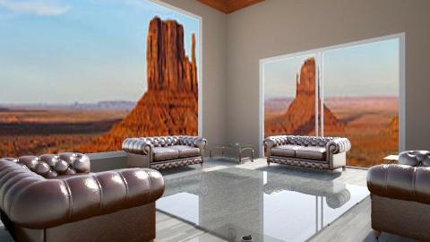 Desert modern - Living room - by Amateur architect
