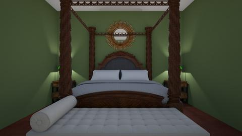 wurk 1 - Rustic - Bedroom  - by sriwanth12