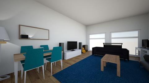 Home interior - Living room  - by Harb3e