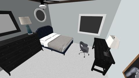 PreBedroom - Modern - Bedroom  - by WaritR