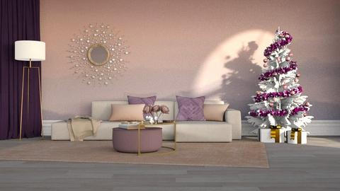 Merry Christmas - Modern - Living room  - by Claudia Correia