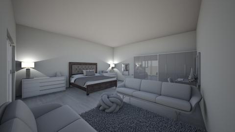 modern bedroom - Vintage - by abimennie