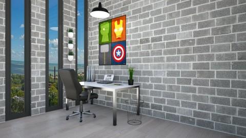 Office - Modern - Office  - by Vampire_Kitty