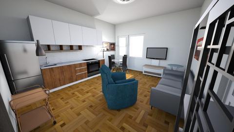Small Space 375sqft A - Minimal - Living room  - by KajsaRain