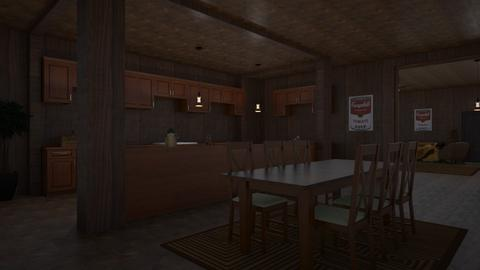 Rustic - Rustic - Kitchen  - by Itzy