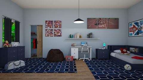 TWEEN BOY AUSTIN - Bedroom  - by KarJef