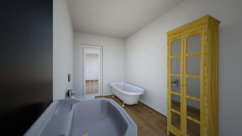 Stary plan - Bathroom  - by gabrielasiemiaszko