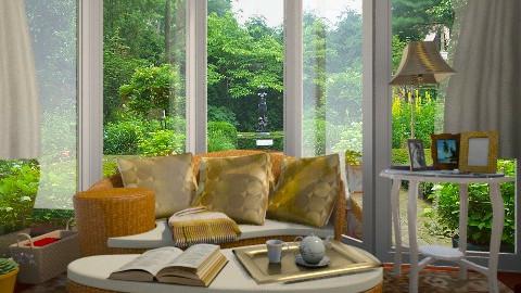 read - Living room  - by yonvie