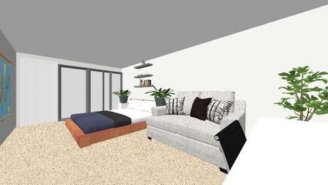 My bedroom - Modern - Bedroom  - by indyelliss