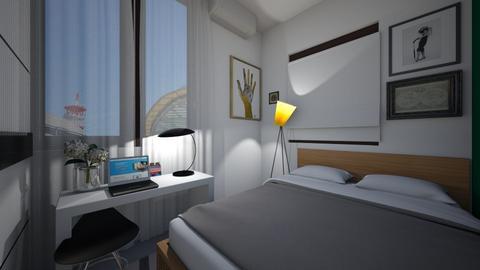 Bedroom Wall Decor v2 - Modern - Bedroom  - by MissChellePh