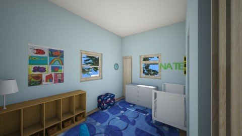 Nate_s Room0 - Kids room - by Robacki