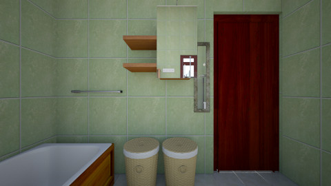 mutundwe bathroom - Rustic - Bathroom - by ck nimusiima