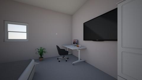 expressief talent - Bedroom  - by milourenssen
