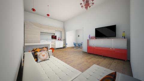 retro - Retro - Living room  - by Gislani Galatto