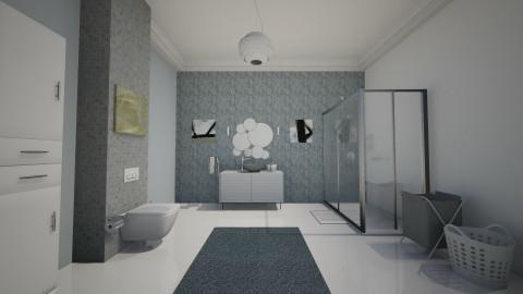 bathrooom2 - Modern - Bathroom - by Kim Youn ji