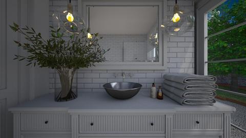 ModernVintage_Bathroom - Bathroom  - by lovasemoke