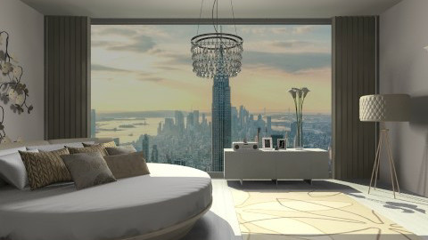 Champagne - Modern - Bedroom  - by deleted_1566988695_Saharasaraharas