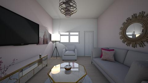 Living Room Pink - Living room  - by Carlos Sacerio