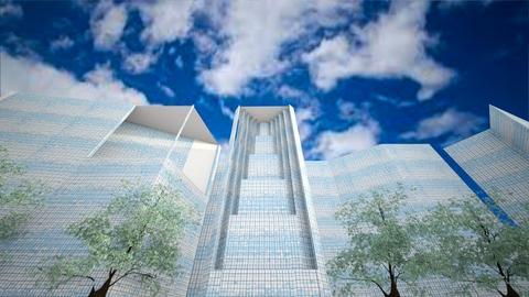 skyscrapers - by nihalruttala