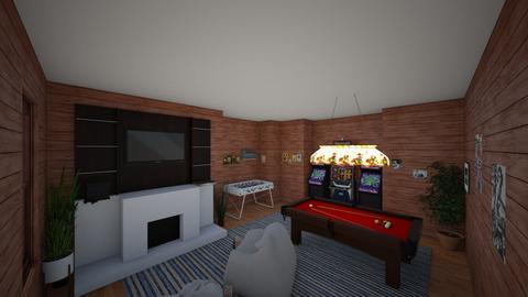 Game Room - Modern - by Irishrose58