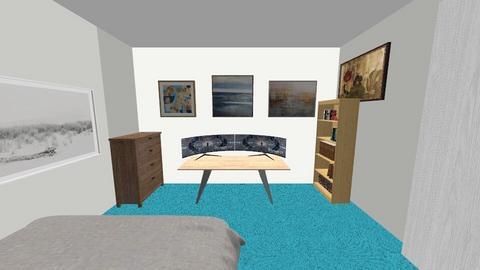 chambre de justin - Modern - Bedroom  - by tonythesmart
