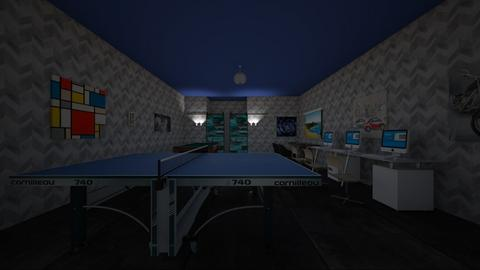 Cool game room - Modern - Living room  - by BB100