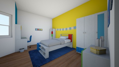 Chambre enfant - Kids room - by Ines 66