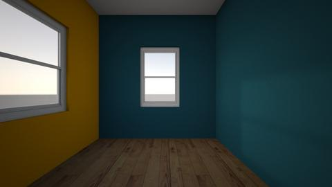 room plan - Bedroom  - by triviatan
